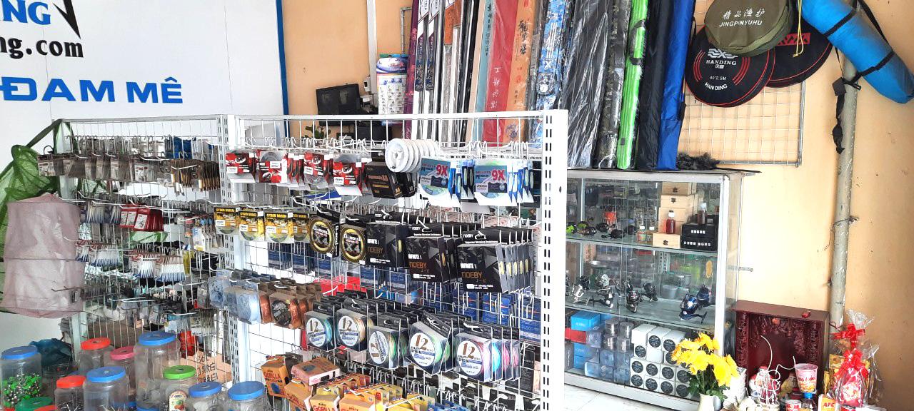 Shop đồ câu cá Tại Huyện Lạc Sơn Hòa Bình